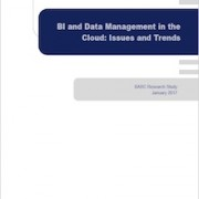 BI and Data Management in the Cloud by BARC