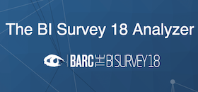 The BI Survey 18 Analyzer