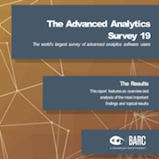 Advanced Analytics Survey 19 cover