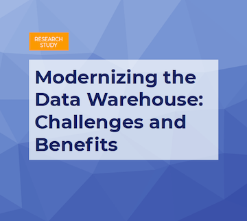 Modernizing The Data Warehouse