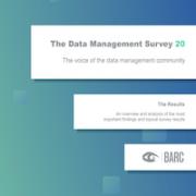 Data Management Survey 20 cover page