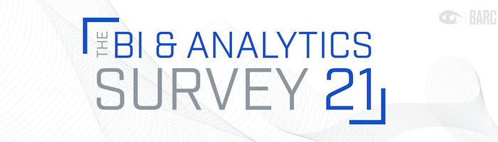 The BI & Analytics Survey 21