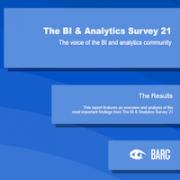 The BI & Analytics Survey 21