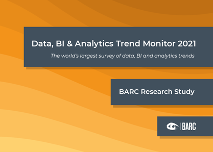 Data, BI & Analytics Trend Monitor 2021 cover